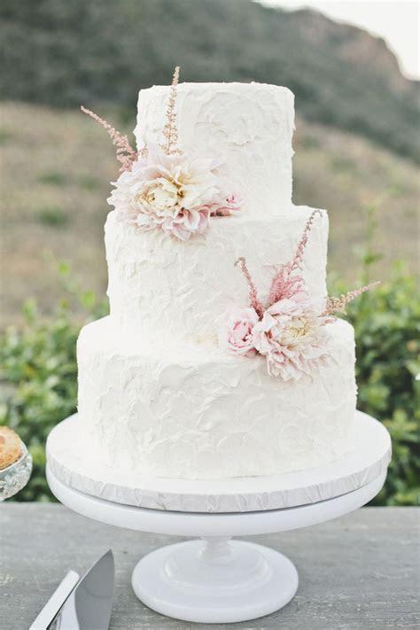 Top 15 Real Flower Rustic Wedding Cake Designs ? Unique