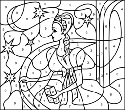 Princess on a Balcony Coloring Page. Printables. Apps for ...