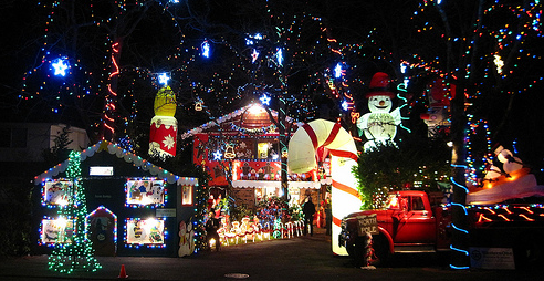 Victoria BC Christmas Lights - ChatterBlock in Victoria BC - Blog