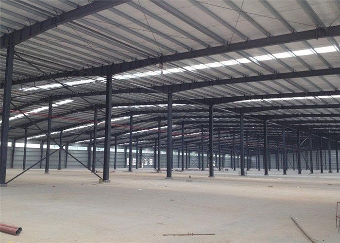 Dirakit Gudang Desain Kustom Struktur Atap Gudang Cahaya Prefabrikasi