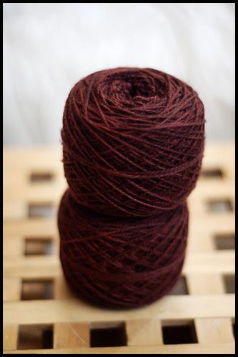 "Sundara Sock ""Brown with Red"""