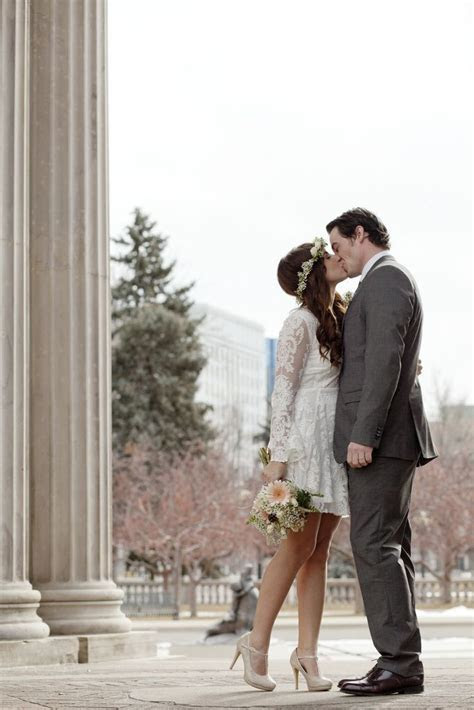 Just the two of us: Erin & Caleb's intimate courthouse