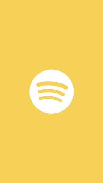 Aesthetic Spotify Logo Marble | aesthetic caption