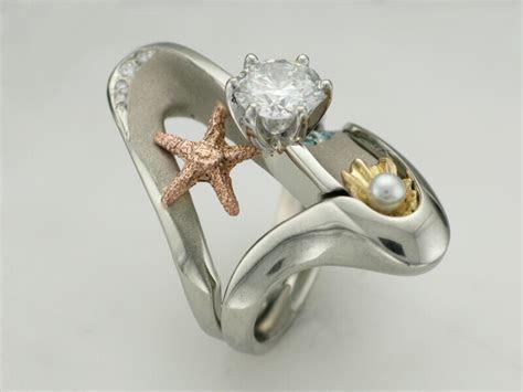 romantic ocean wedding sets tamron jewelry