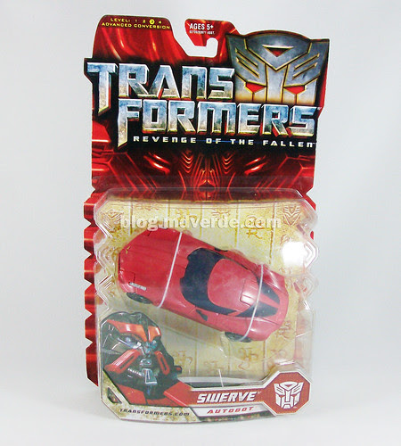 Transformers Swerve RotF Deluxe - caja
