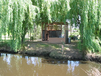 Teahouse by the Pond, Red Bluff, California