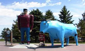 Aint' no party like a Brainerd party, cuz a Brainerd party BLUE OX