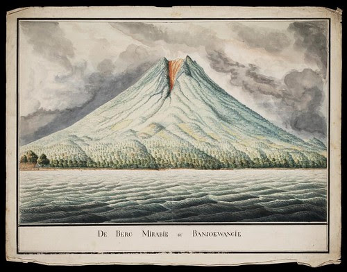 De Berg Mirabie bij Banjoewangi