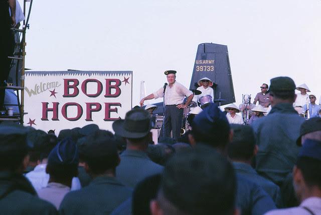 Saigon 1964 - Tan Son Nhut - Bob Hope