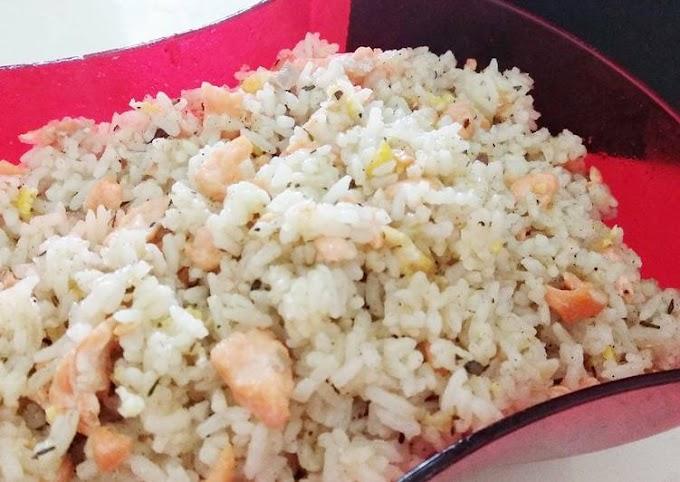 Resep Nasi goreng Salmon yang Sempurna