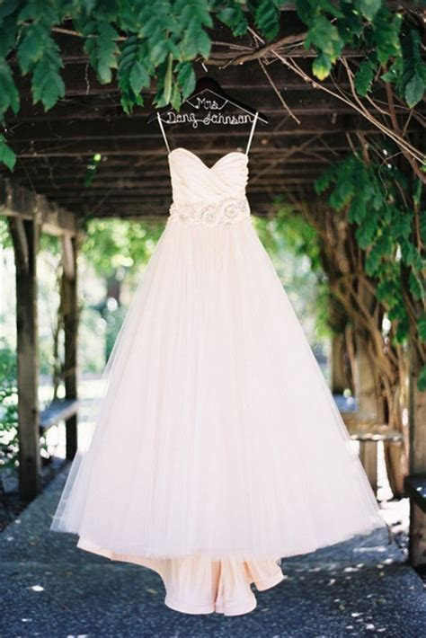 Wedding Dress Photography: The Hanging Dress Shot