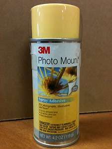 3m Photo Mount Spray Adhesive 1025 Oz