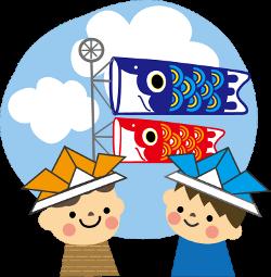 端午の節句 キャラクター五月人形 お祝いごとはっぴぃノート
