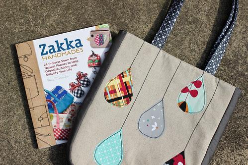 Zakka Handmades: Raindrops Tote by Jeni Baker
