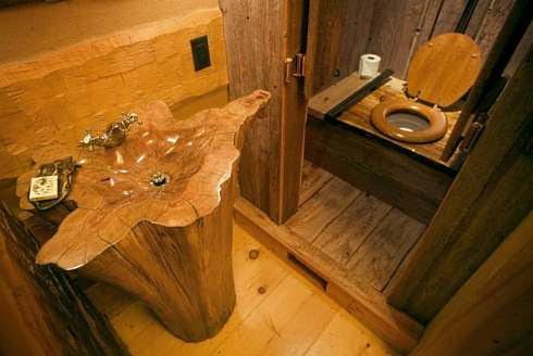 Bathroom Home Design on Log Cabin Home Plans       A Spectacular Hunter S Haven