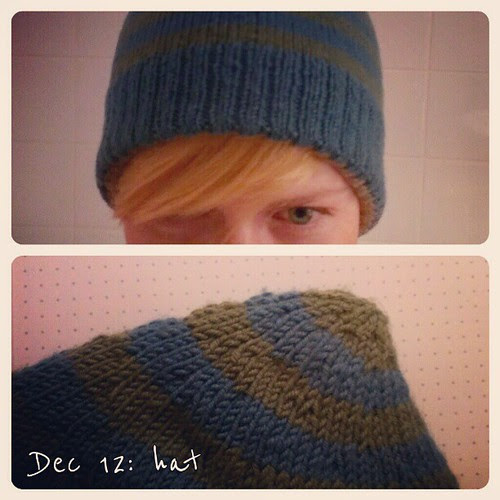 Dec 12: hat .. love my #pixie #hat #fmsphotoaday