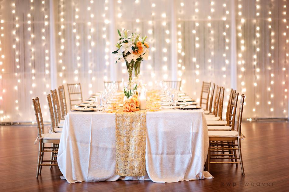 Elegant Wedding Reception Decorations Romantic Decoration