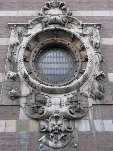 fachada janela de iluminação