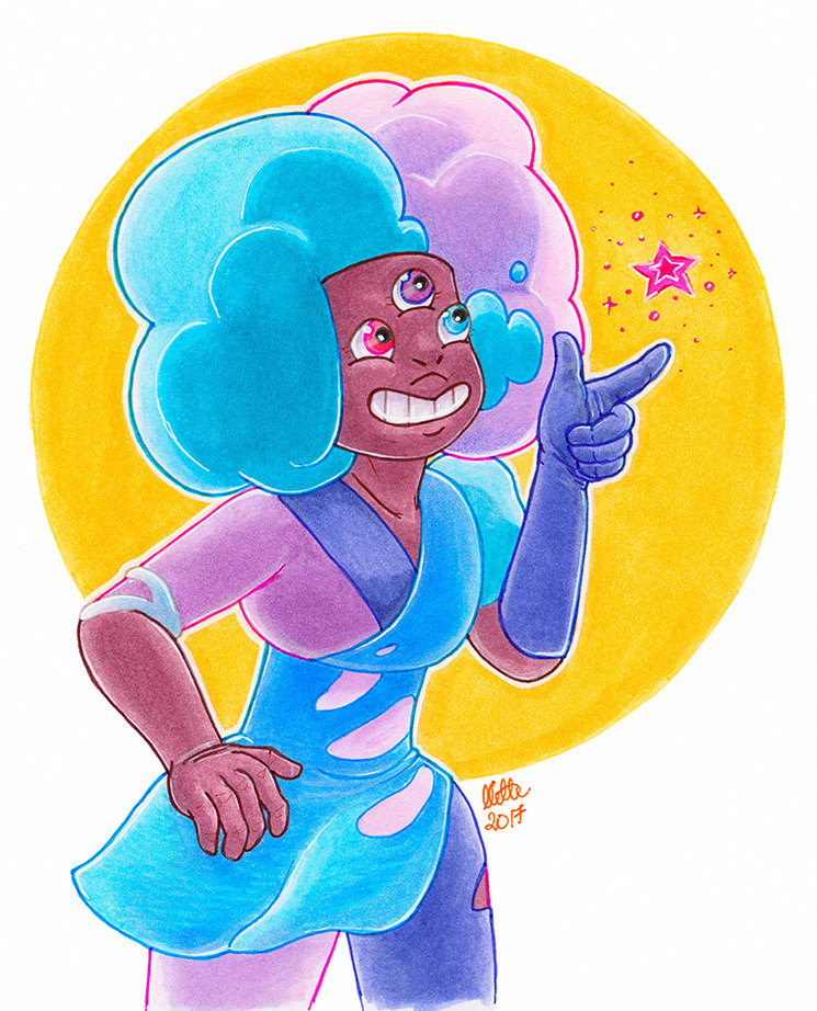 Two Garnet moods for y'all today! :D