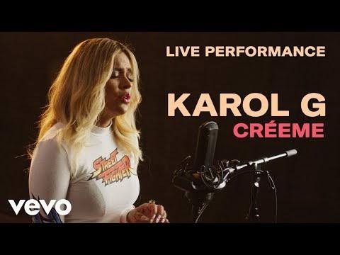 "Karol G - ""Créeme"" Official Live Perfomance"