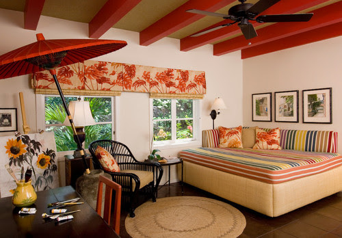 Hawaiian Interior Design | Historic Charles Dickey House ...