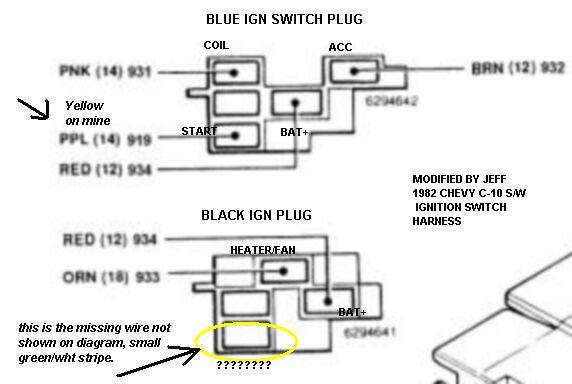 X Large Gm Ignition Switch Wiring Diagram View