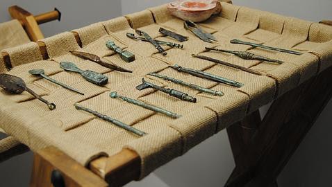 Sangre y pilum; El instrumental que usaron los cirujanos de las legiones romanas en España