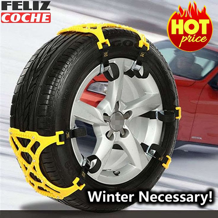 Car Snow Chains Universal Car Tyre Chain Winter Roadway Safety Tire Chains Snow Climbing Mud