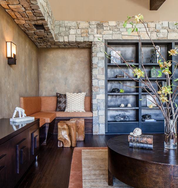 Modern Rustic - Contemporary - Living Room - San Francisco ...