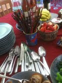 Silverware and Chopsticks