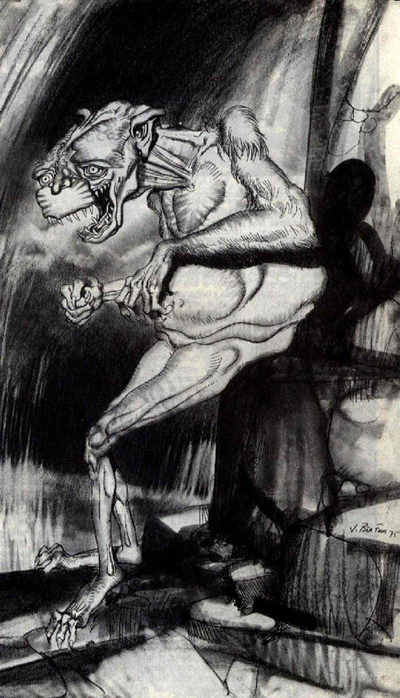 Josep M. Beá - Lovecraft Monster Gallery - 21