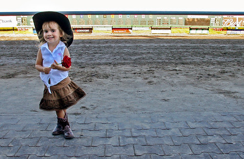 cowgirl @ the track