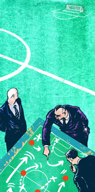 football management illustration