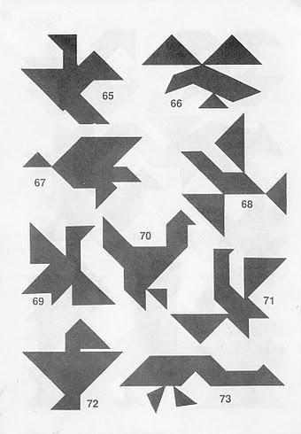 Soluciones Tangram Descubre Cómo Formar Las Figuras