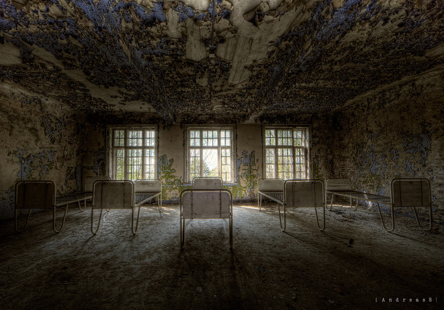 Room of suffering. Hospital Psiquiátrico Lier. Andreas S