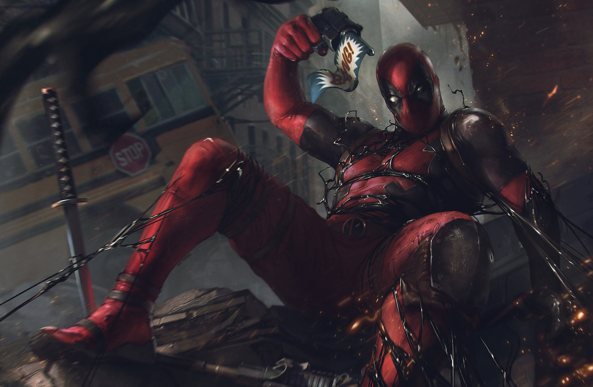 Venom Deadpool Wallpaper Hd