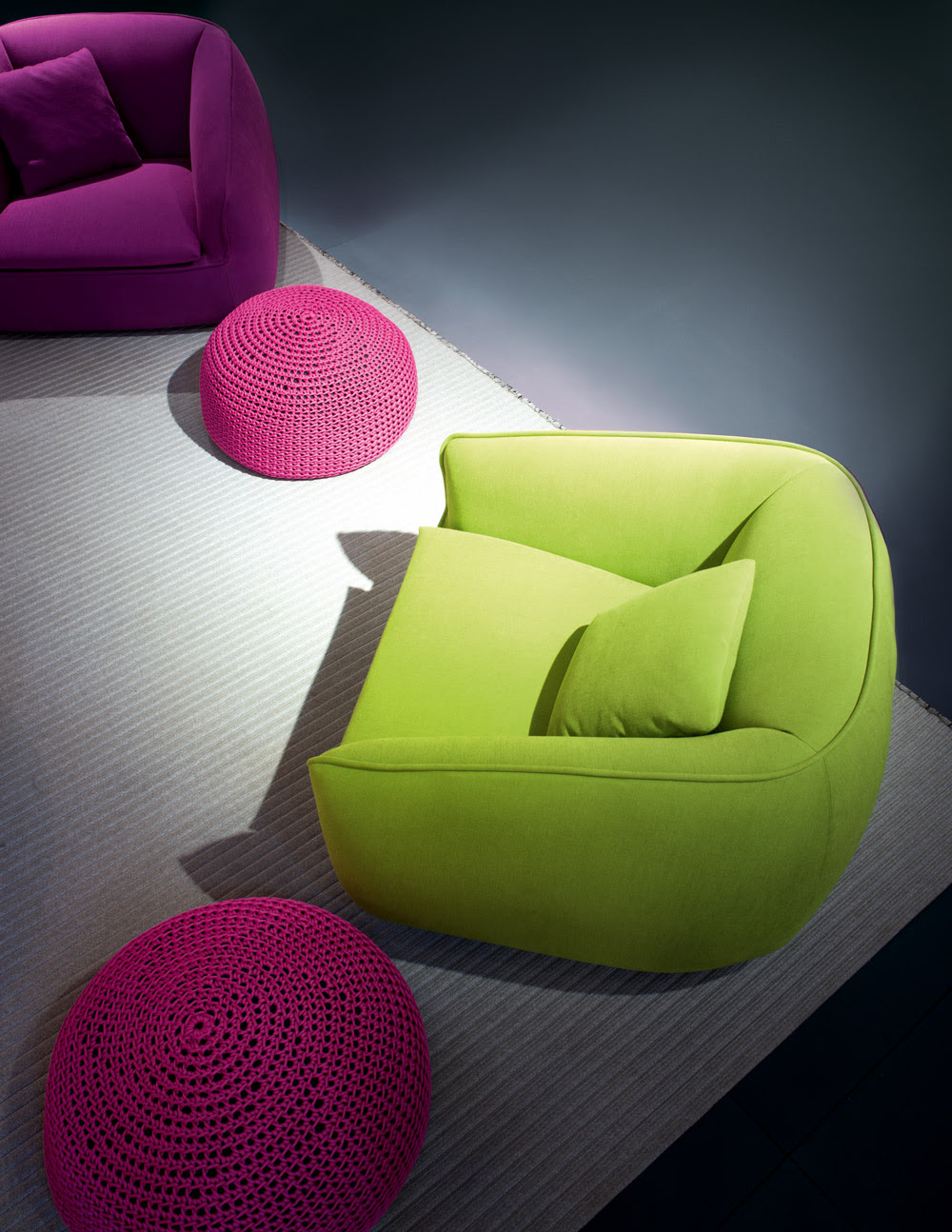Colorful Couches | Home Designing