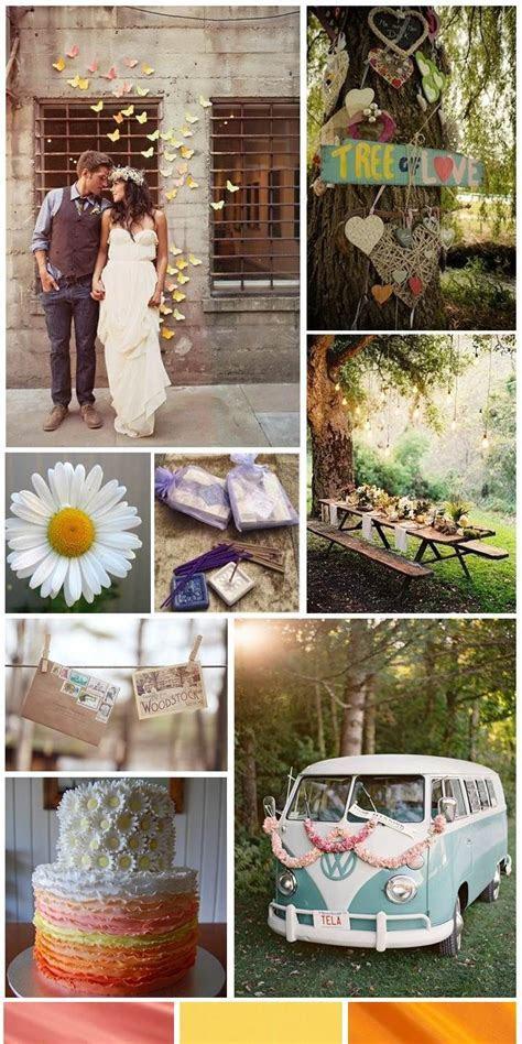 Hippie Wedding Decoration Ideas