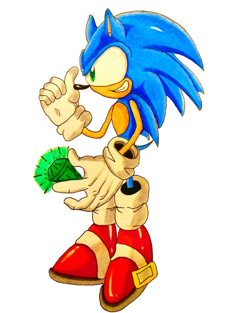 Sonic has Collected a Chaos Emerald by DarkGamer2011 on ...