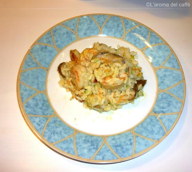 riso gamberoni porcini blog