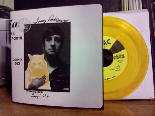 "Gentleman Jesse - You've Got The Wrong Man 7"" - Gold Vinyl /200"