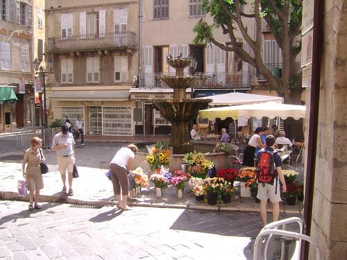 Flower Market in Grasse