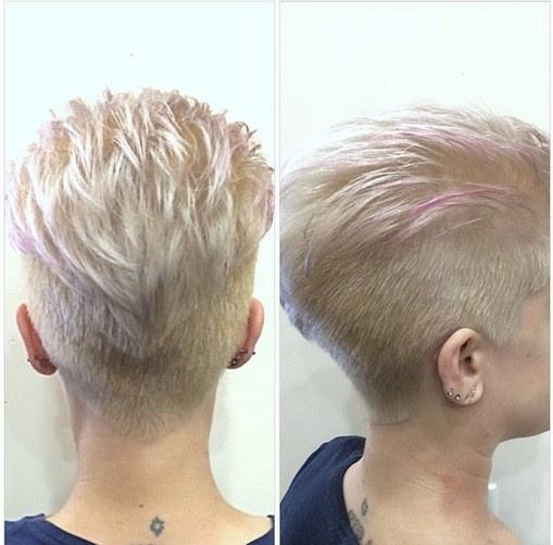 Undercut kurzhaarfrisuren Kurze Haare