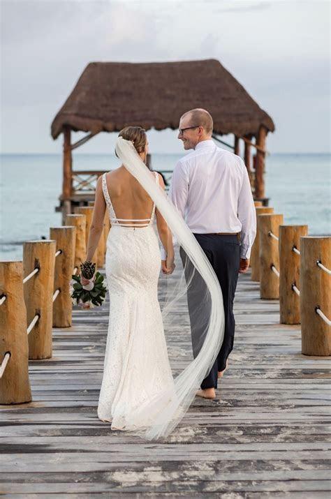 Real Bride Fives Azul Beach Resort   Hilary & Garett