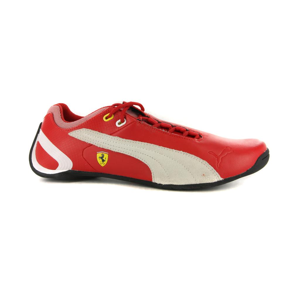 Boys Puma Future Cat M2 Ferrari Red Motorsport Trainers | eBay