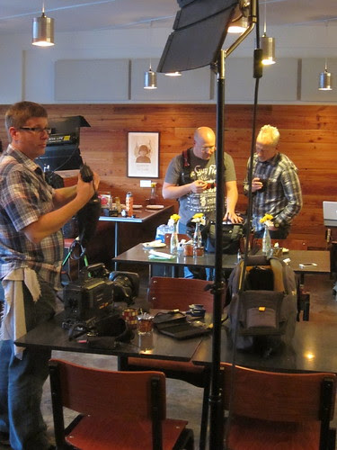 Diners, Drive-ins & Dives Shoot at Pizzeria Lola