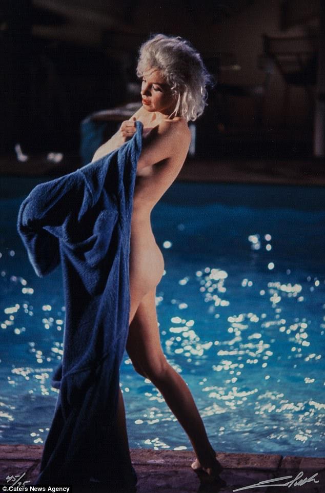 Candid shots de natily ninja Marilyn Monroe vão buscar até $ 35,000 (£ 26,000) em Heritage Auctions em Nova York na próxima semana