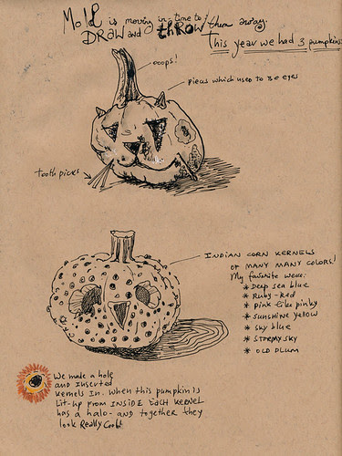 November 2012: farewell, pumpkins by apple-pine