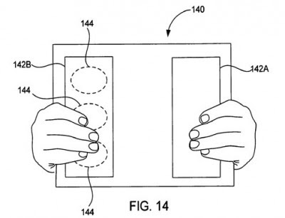 apple touch pattent