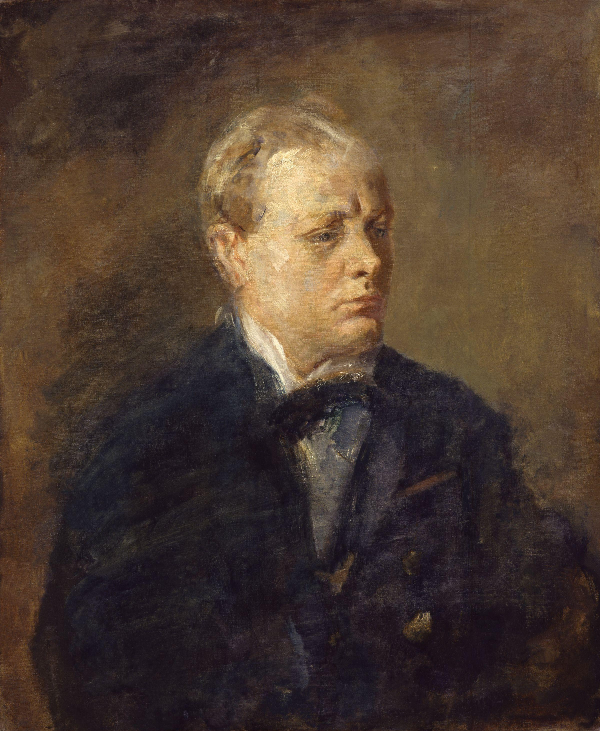 Ambrose McEvoy: Sir Winston Leonard Spencer Churchill